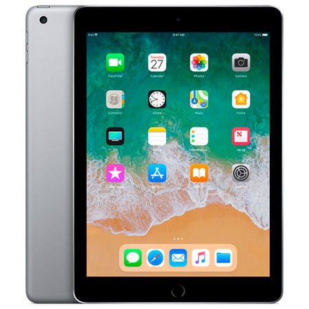 Планшет Apple iPad (2018) 32GB Wi-Fi Space Grey (MR7F2RU/A) в Технопоинт
